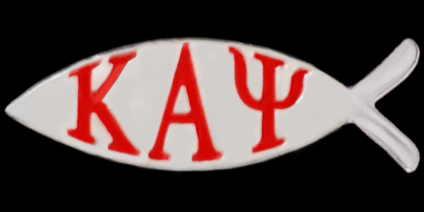 Kappa Greek Fish Lapel Pins